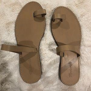 Madewell nude sandals